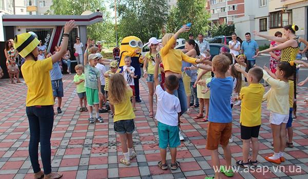 Праздник Миньонов в школе иностранных языков ASAP: http://asap.vn.ua/ru/news/asap-minions-party.html